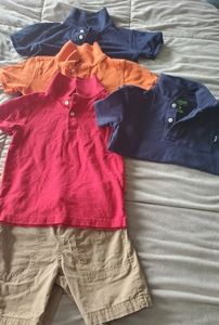 Toddler Boy Outfits Polos and Shorts